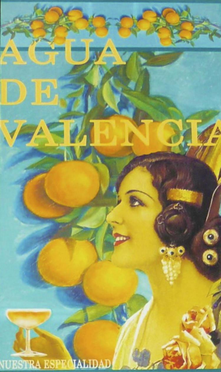 Affiche pour l'agua de Valencia