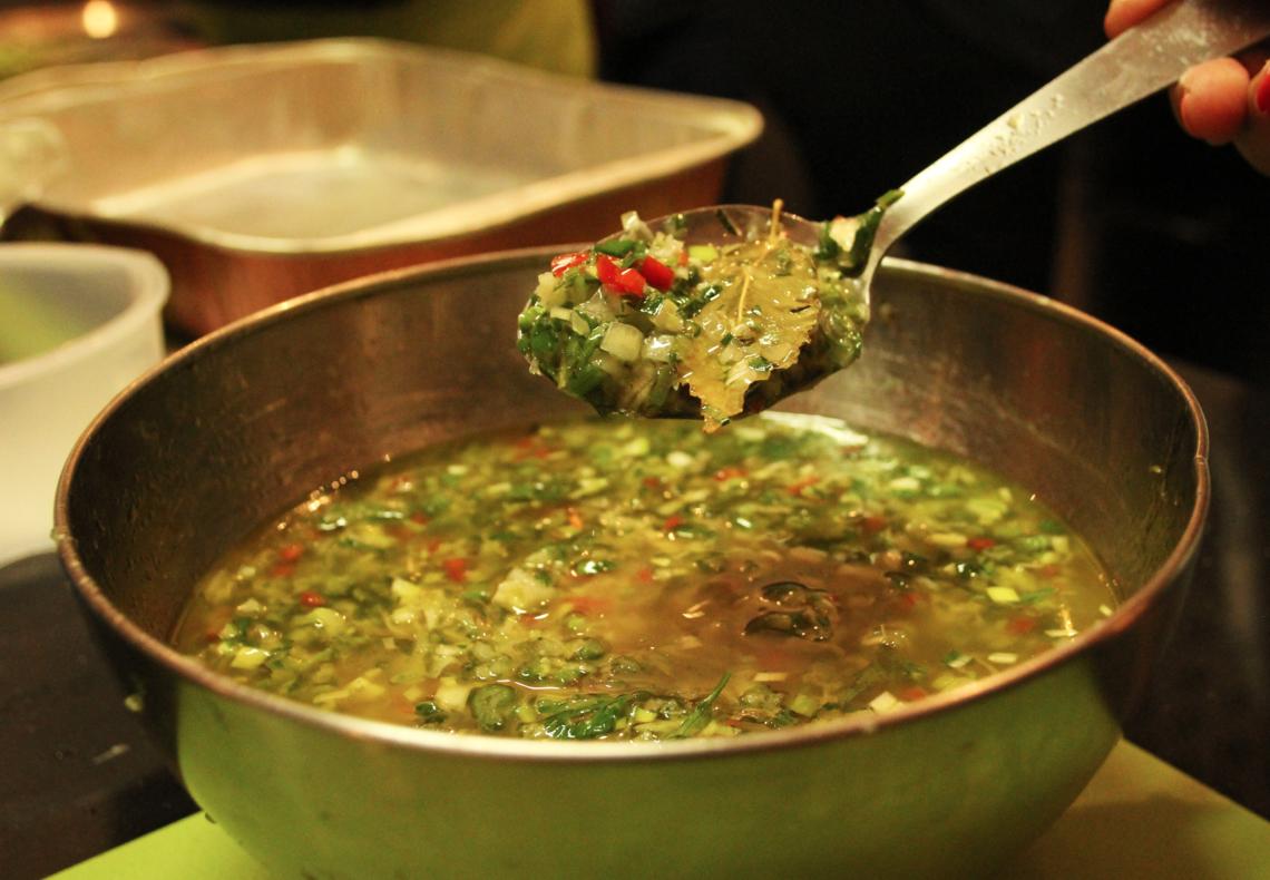 La sauce chien ou comment la cuisine cr ole r veille les grillades the foodtracks post - Sauce pour crustaces grilles ...
