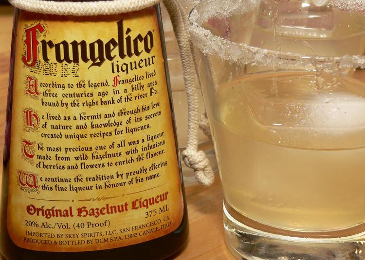 De la liqueur Frangelico