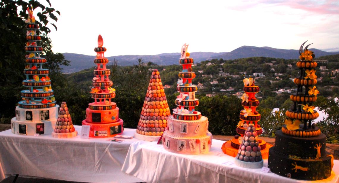 Un atelier dégustation au festival des Etoiles de Mougins